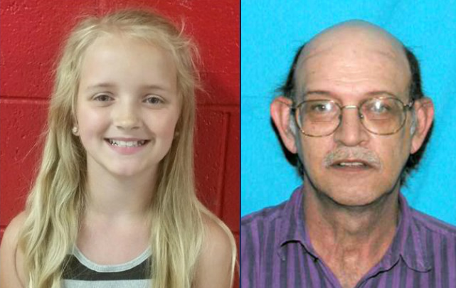 ACTIVE AMBER ALERT - Carlie Trent, 9 years old