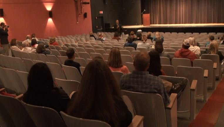 Wyoming governor speaks with college faculty about budget cuts
