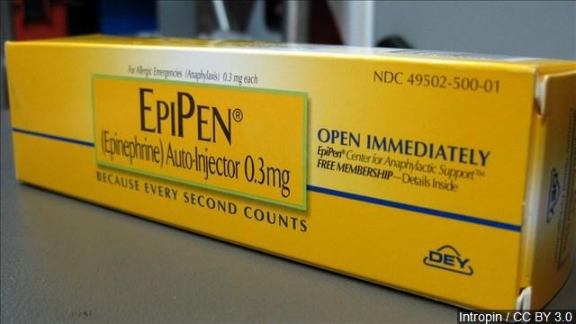 Mylan launching generic version of EpiPen