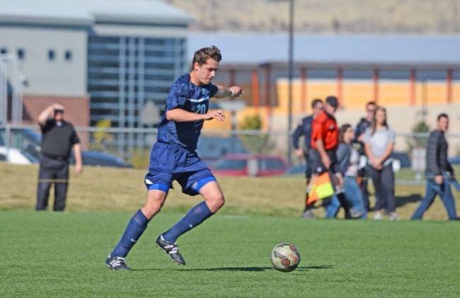 MSUB Men's Soccer Defender Tom Saltwell joins the program from England