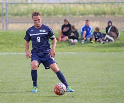 MSUB Men's Soccer Defender/Midfielder Guillaume Kremer joins the program from France