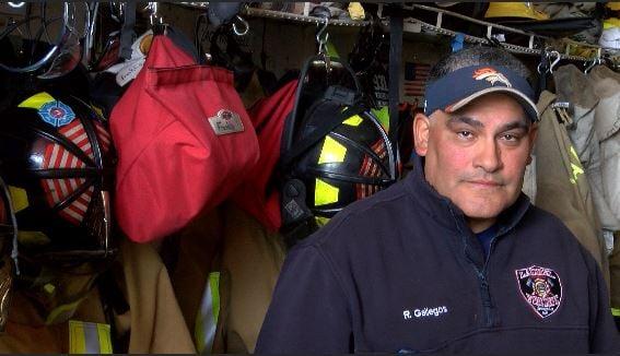 Laurel Fire Department's Rick Gallegos