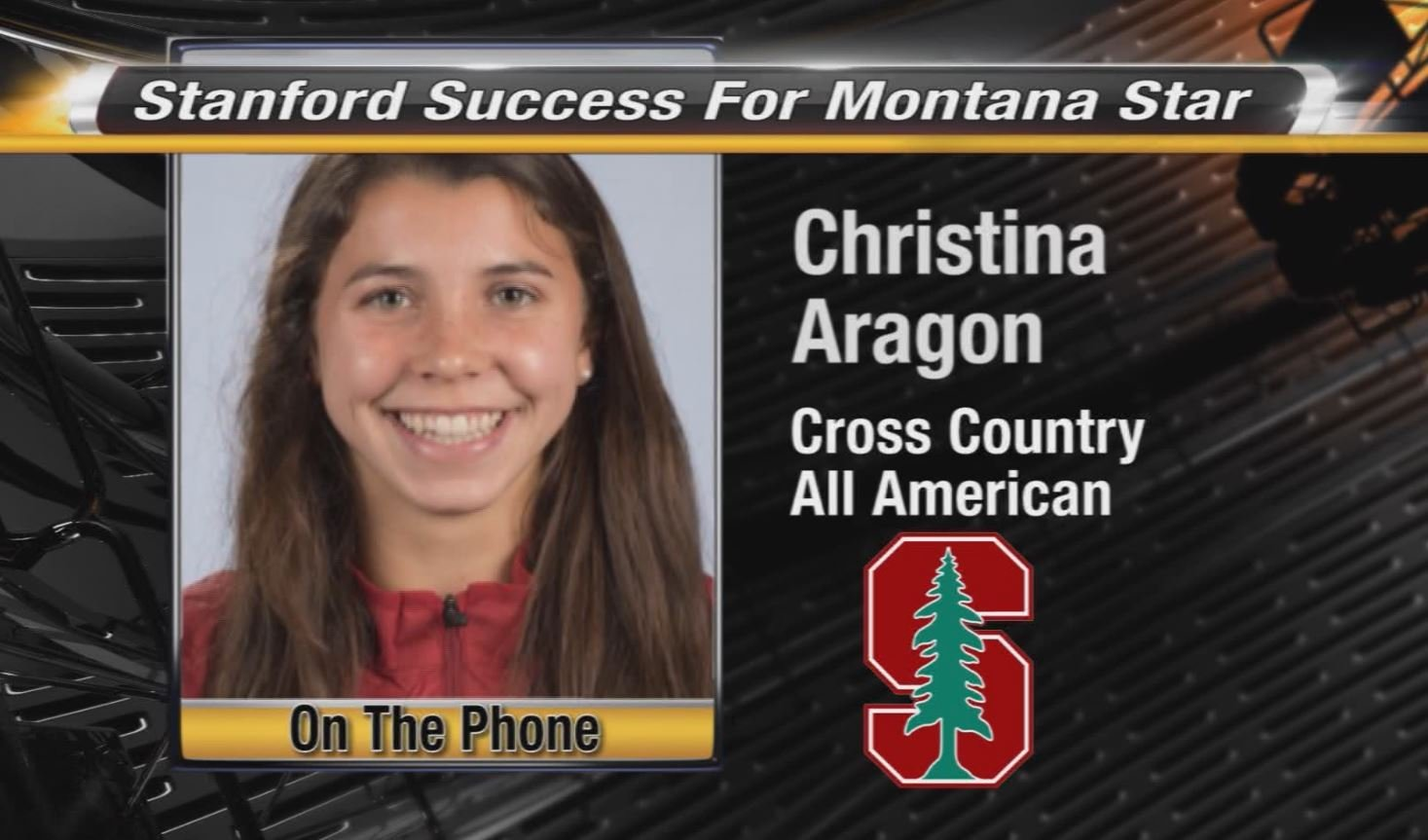 Stanford success for Montana star; catching up with Christina Aragon