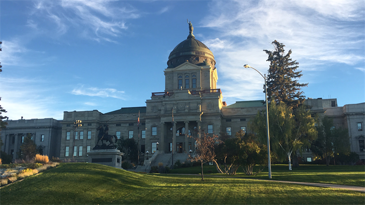 Helena Capitol Building; File Photo / Rob Tanner