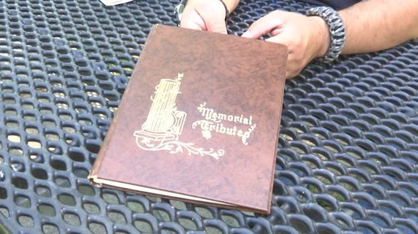 Veteran Raymond Gaabo's memorial book was discovered in one Billings basement and documents the life of this man serving in the Army, Air Force and for the Detroit Police Department