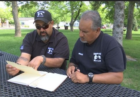Local veterans with Warrior Wishes Montana are working to unite Raymond Gaabo's memorial book with his family