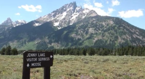 Workers prepare for solar eclipse viewing next month at Grand Teton National Park