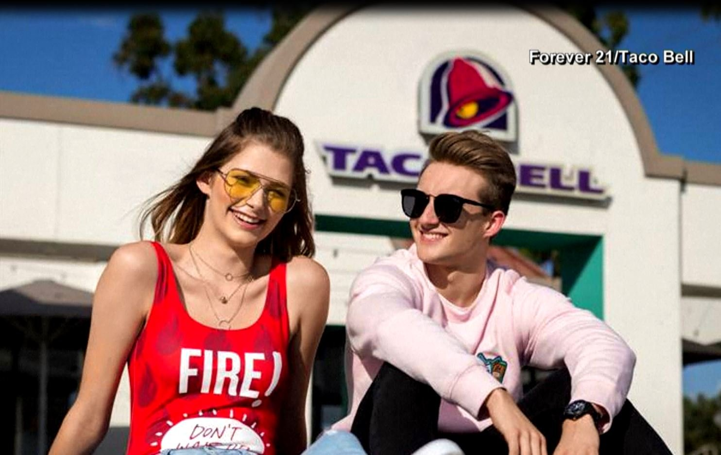 Forever 21, Taco Bell collaborate on new clothing collection