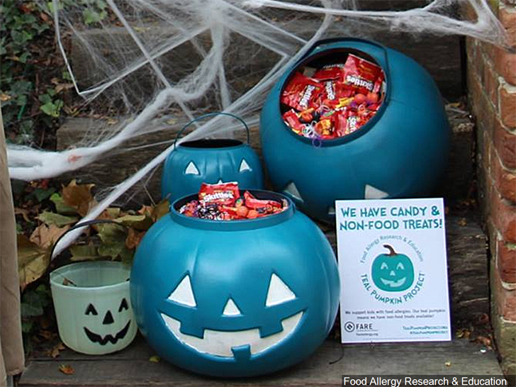 Project promotes safe trick-or-treating for children suffering from food allergies