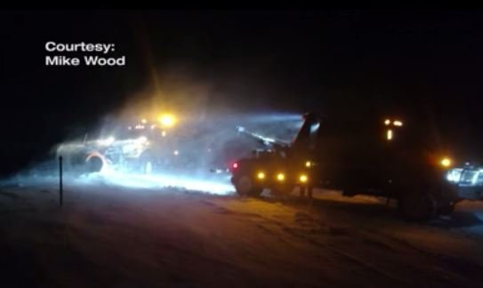 WYDOT driver survives night on the mountain last December, returns to work this year to tackle winter storms