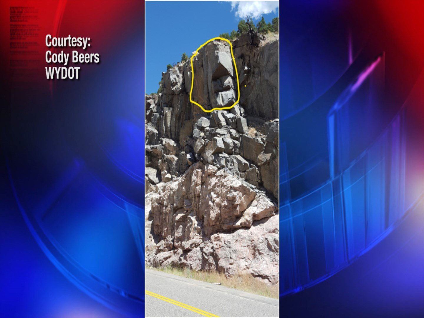Dec. 6 highway closure planned to remove large rock in Wind River Canyon
