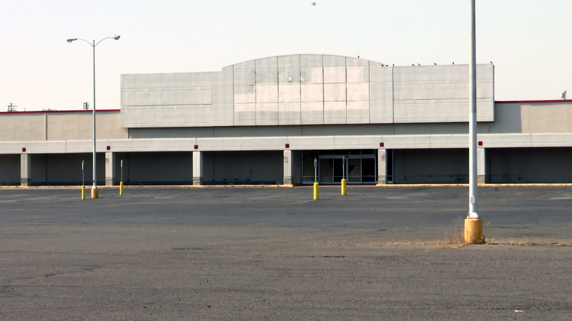 The former Kmart lot has been vacant since it closed in 2016.