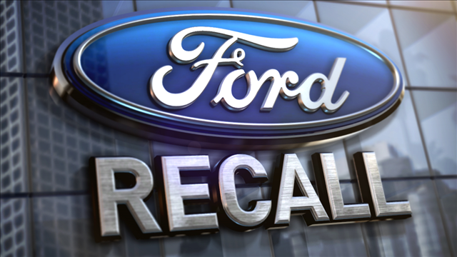 Ford recalling nearly 1.4 million vehicles; steering wheel can detach