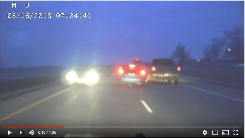 MHP releases video of near head on collisions with wrong way drivers | KULR 8