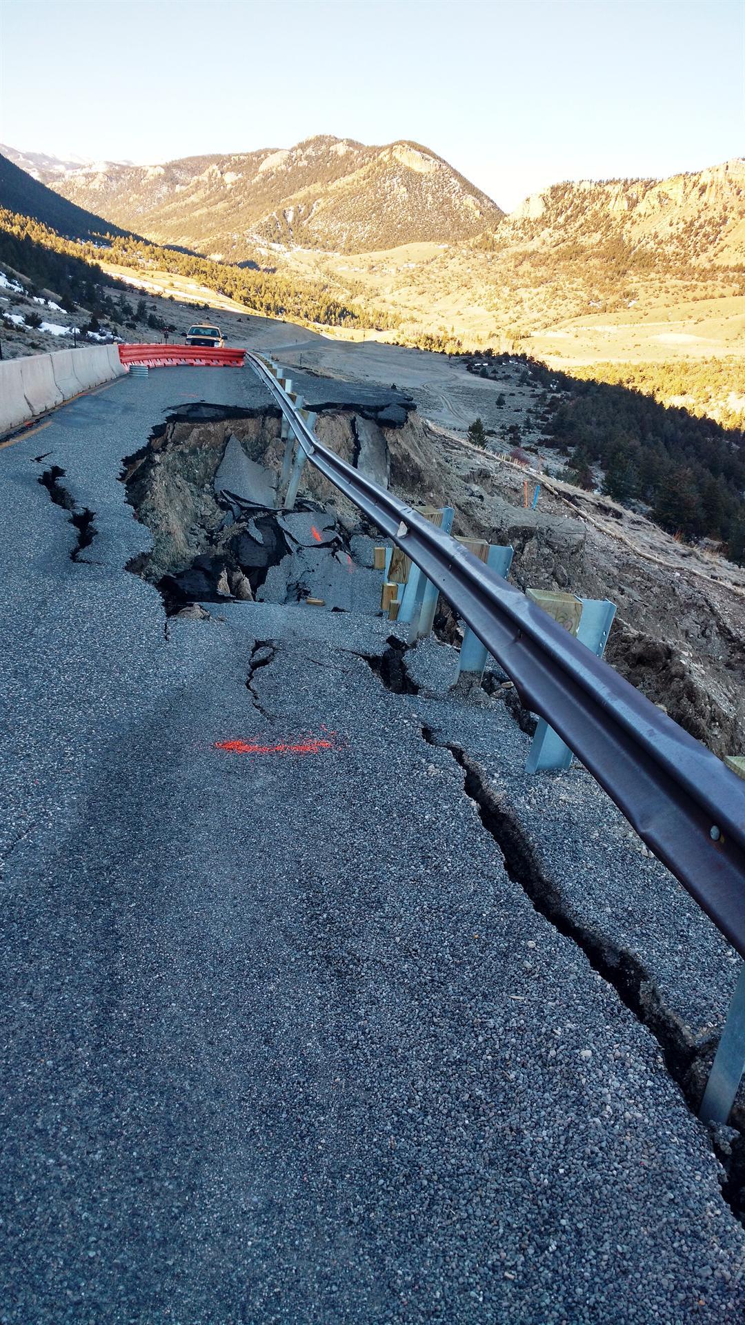 Sliding road repairs scheduled to begin Tuesday | KULR 8