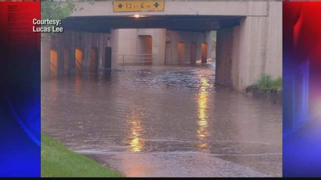 Livingston community concerned about safety when underpass floods | KULR 8