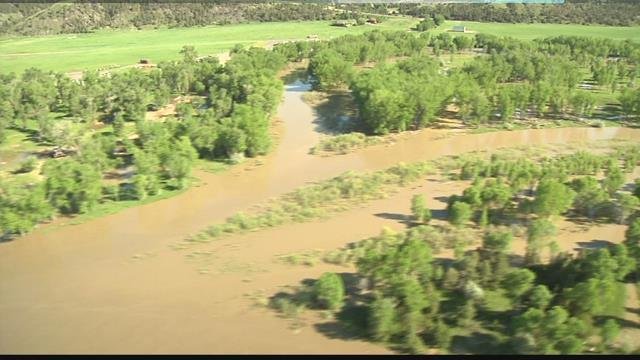 Yellowstone County flood warning: Pilot discusses potential damage and current flood stage | KULR 8