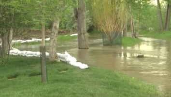 Residents along riverbank brace for potential flooding | KULR 8