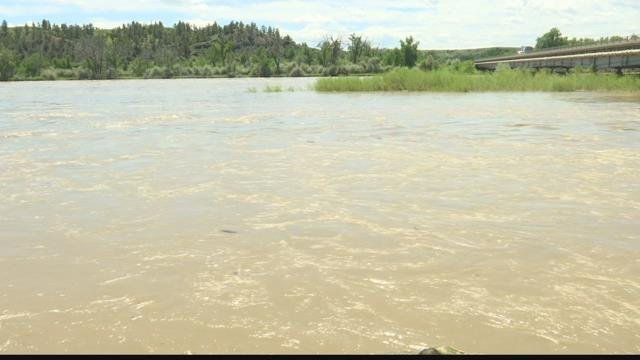 Yellowstone river in Billings at minor flood stage | KULR 8