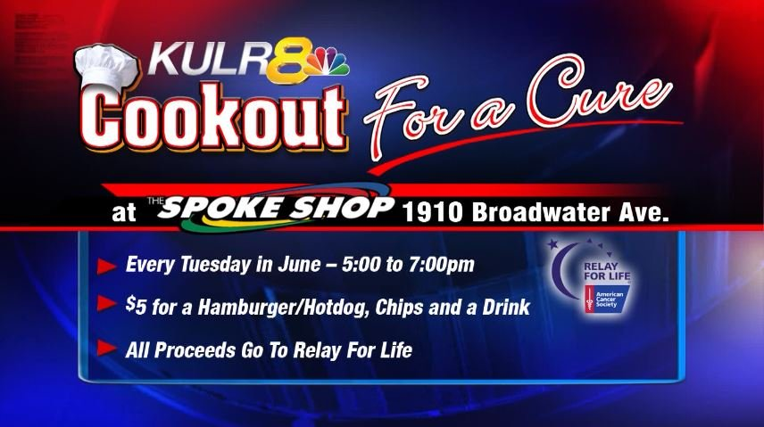 Cookout For A Cure is back this June | KULR 8