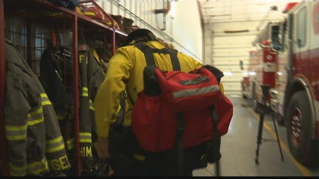 Columbus Fire Rescue District travel during fire seasons to help in wildland fires | KULR 8
