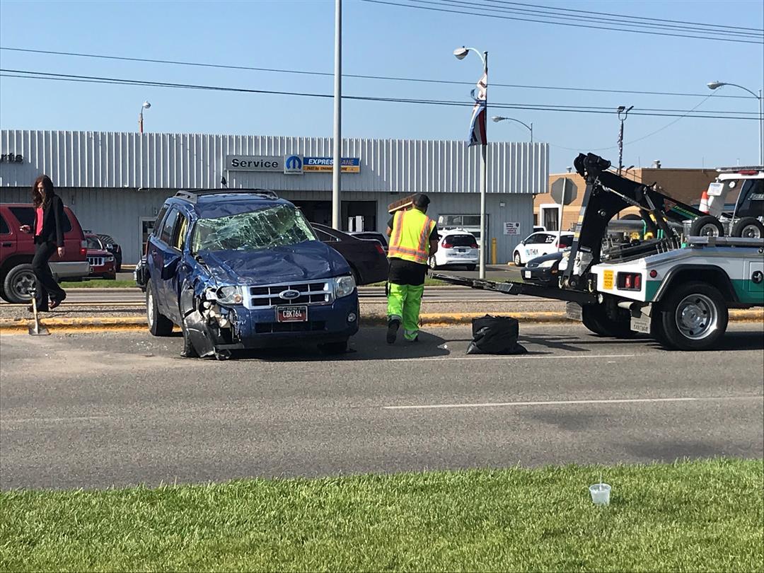No serious injuries in 2-car crash on King Ave.   KULR 8