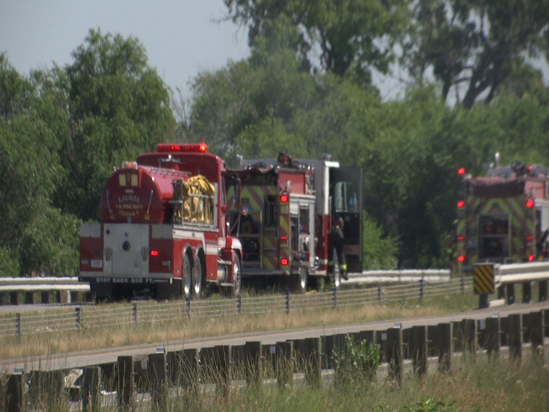 Car Fire on I-90 West   KULR 8