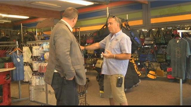 Senator Tester visits local business that will be impacted by supreme court ruling on online sales tax   KULR 8