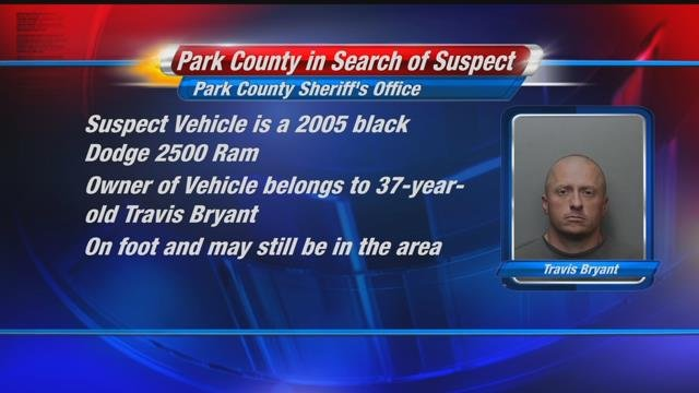 Park County Sheriff's Office searches for suspect involved in car chase | KULR 8