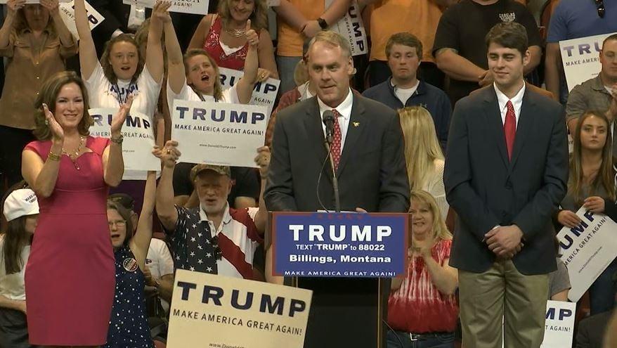 Reports Trump Selects Montana Rep Ryan Zinke As Interior Secre Abc Fox Montana Local News