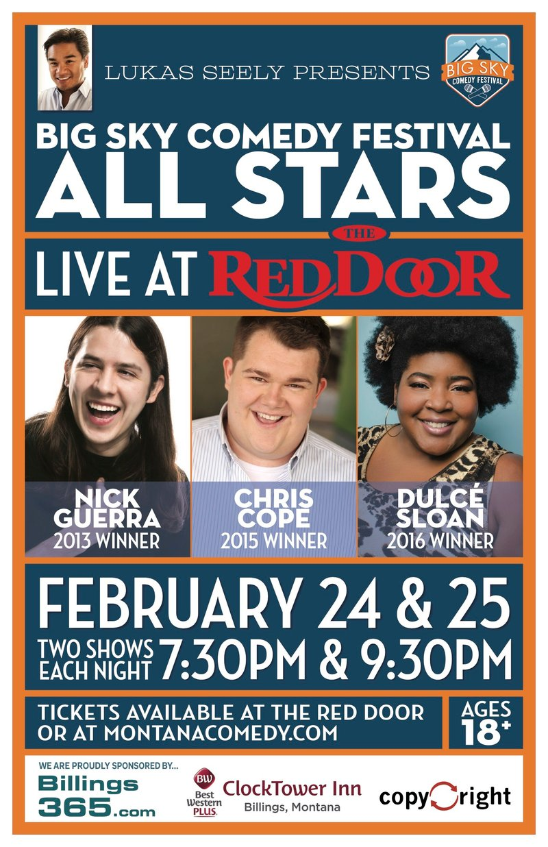 Big Sky Comedy All Stars Spokane North Idaho News Weather Khq