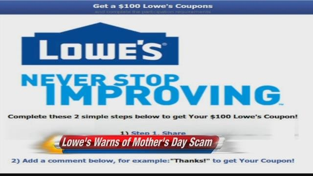 Your money: Lowe's warns of Mother's Day scam - KULR8.com | News, Weather & Sports in Billings ...
