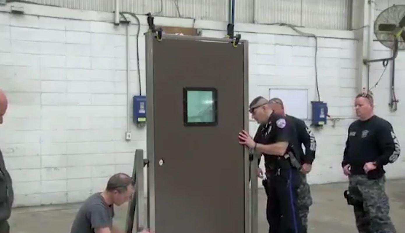 Company creates bulletproof classroom doors & Company creates bulletproof classroom doors - KULR8.com | News ...