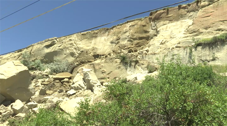 More Boulders May Fall After Rock Slide In Billings