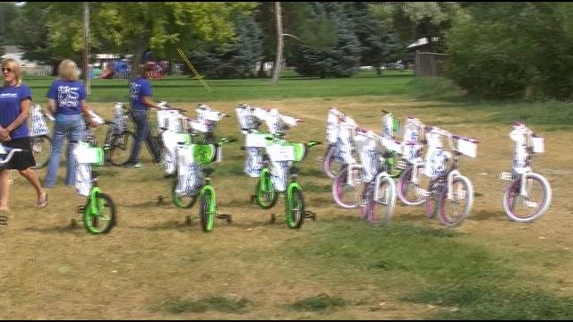 Donated Bikes In Yakima Washington Kids Get Special Bike Donation