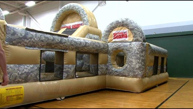 Local Sales Apps >> MT National Guard Brings Inflatable Obstacle Course to PE ...