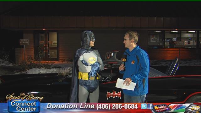 Batman stops by KULR-8 - Spokane, North Idaho News & Weather KHQ com