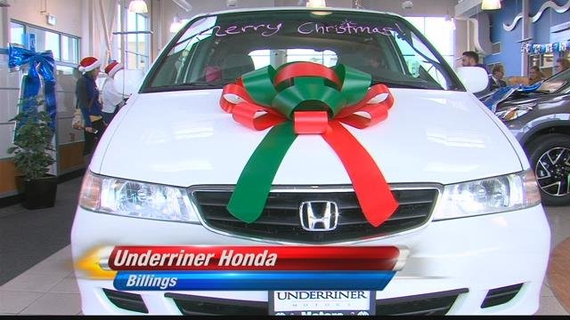 Local Family Receives Car This Holiday Season