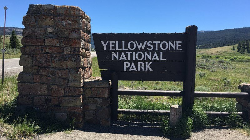Yellowstone National Park entrance; File Photo: KULR