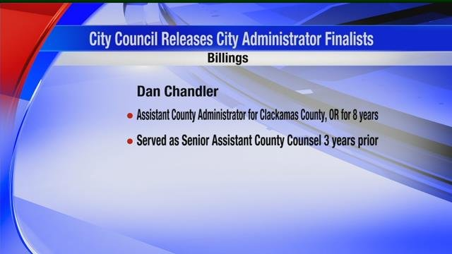 City council releases names of semi-finalists for position of Billings city administrator | KULR 8