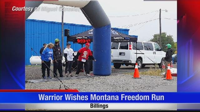 2nd annual Warrior Wishes Montana Freedom Run event raises money for veterans and their families | KULR 8