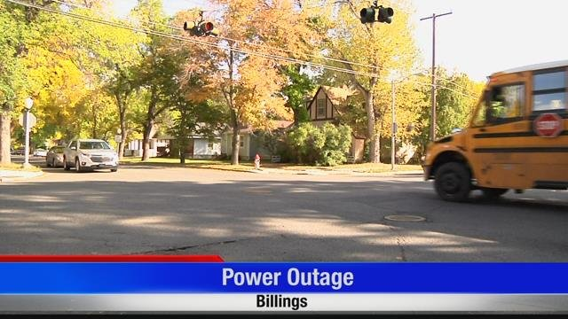 Power outage in central Billings | KULR 8