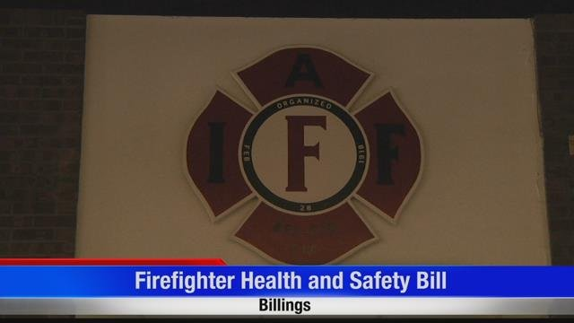 Firefighter health and safety bill aims to provide all Montana firefighters with cancer coverage | KULR 8
